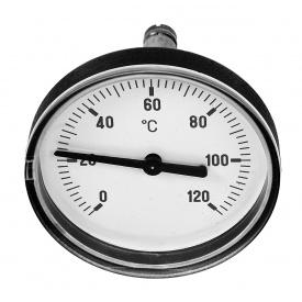 Осевой термометр Meibes красный 58071.504