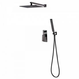 GRAFIKY комплект скрытого монтажа для душа смеситель скрытого монтажа верхн душ ручной душ