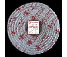 ElectroHouse Телевизионный (коаксиальный) кабель RG-6U CCS 1,02 Cu гермет фольга белый ПВХ