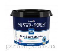 Шпаклівка Sniezka Acryl-Putz Finish Акрилова 27 кг