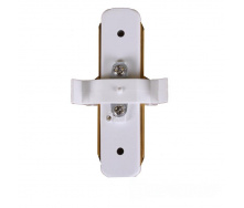 ElectroHouse Коннектор для трекового LED светильника прямой белый