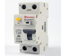 ElectroHouse ДИФ Автомат 40А 1P+N 30mA 4,5kA 230-240V IP20