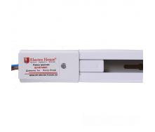 ElectroHouse Рейка для трекового LED светильника 1 м белая