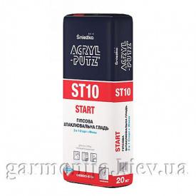 Шпаклевка Sniezka Acryl-Putz ST10 Start гипсовая 20 кг