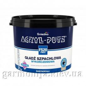 Шпаклевка Sniezka Acryl-Putz Finish Акриловая 27 кг