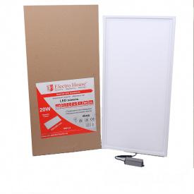 ElectroHouse LED панель прямоугольная 20W 295х595мм