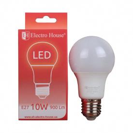 Светодиодная лампа ElectroHouse LED А60 E27 10W