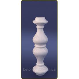 Балясина симметричная из искусственного мрамора 140х430 мм