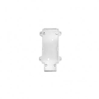 Настенное крепление белое пластик для трекового LED светильника ElectroHouse 15W