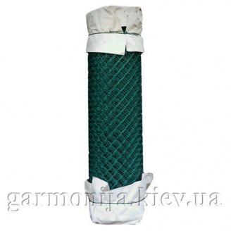 Сітка рабиця з ПВХ покриттям 50х50х2,5 мм зелена