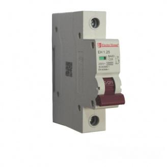ElectroHouse Автоматический выключатель 1P 25A 4,5kA 230-400V IP20