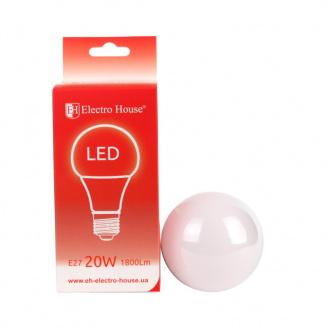 Светодиодная лампа ElectroHouse Е27 20W А95 4100K 1800Lm