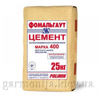 Цемент ПЦ М-400 Полимин 25 кг