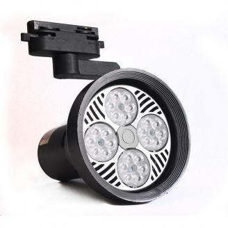 Светильник LED трековый ElectroHouse 25W черный