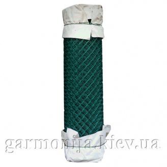 Сітка рабиця з ПВХ покриттям 35х35х2,5мм зелена