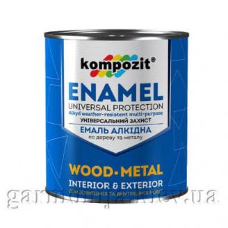 Эмаль ПФ-115 Kompozit 0,9 кг Серый