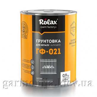 Грунтовка для металла Rolax ГФ-021 Черный 2,8 кг