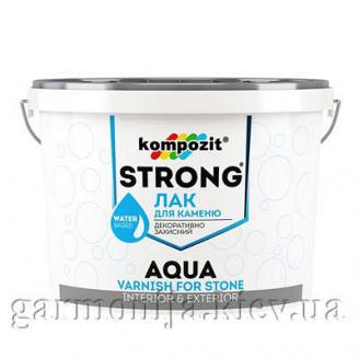 Лак для камня STRONG AQUA Kompozit 0,75 л