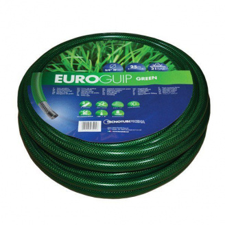 Шланг садовий Tecnotubi Euro Guip Green для поливу діаметр 5/8 дюйма, довжина 50 м (EGG 5/8 50)