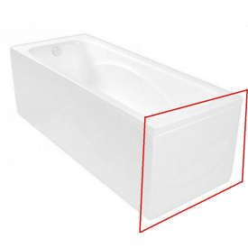 GEMINI панель короткая для ванны 170x80см POOL SPA PWOBC10KO000000