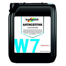 "Антисептик санитарный концентрат 1:4 W7 ""Kompozit"" 5л"