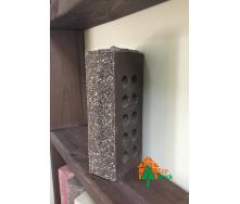 Цегла облицювальна пустотіла ECOBRICK скеля тичок коричневий