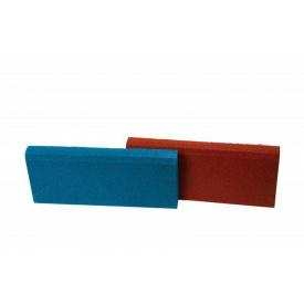 Резиновый бордюр RubCover 500х250х40 мм синий