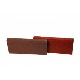 Резиновый бордюр RubCover 500х250х40 мм коричневый