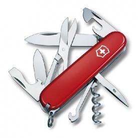 1.3703 Нож Victorinox Swiss Army Climber красный
