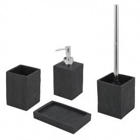 Trento Black Stone комплект аксессуаров в ванную комнату