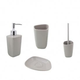 Trento Basic graphite комплект аксессуаров в ванную комнату