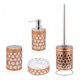 Комплект аксессуаров в ванную комнату Trento Rotonda Copper