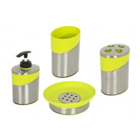 Комплект аксесуарів у ванну кімнату Trento Verde