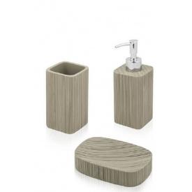 Комплект аксессуаров в ванную комнату Trento Marrone mini