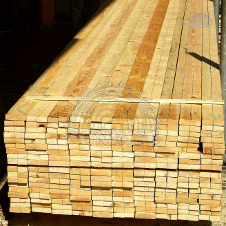 Брусок дерев'яний монтажний сосна ТОВ CАHΡΑЙC 25х70х2000 / 70х25х2000 свіжопиляний