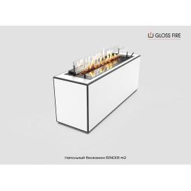 Напольный биокамин Render-m2 Gloss Fire (render-m2)