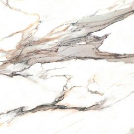 Керамогранитная плитка напольная матовая Cerrad Calacatta Gold Rect. 119,7х119,7 см (5903313315593)