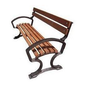 Скамейка садово-парковая ИГ ЛС-4 1650х670х900 мм на металличеких ножках