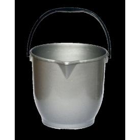 Ведро хозяйственное с носиком 13 л серый