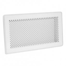 Вентиляційна решітка Р4 195х335 біла Darco