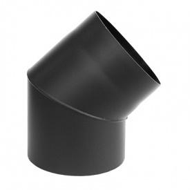 Коліно 45 дымоходное Darco 160 діагональ сталь 2,0 мм