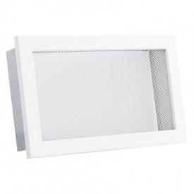 Вентиляционная решетка V с сеткой KRVSM 240х170 белая Ventlab
