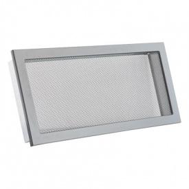 Вентиляционная решетка V с сеткой KRVSM 450х220 черная Ventlab