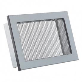 Вентиляционная решетка V с сеткой KRVSM 200х145 черная Ventlab