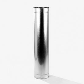 Труба 0,25 м 180/250 мм нержавеющая сталь 0,8/0,5 мм двустенный элемент