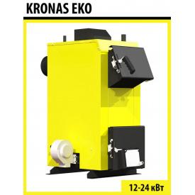 Твердотопливный котел длительного горения Kronas Eko Plus 12 кВт