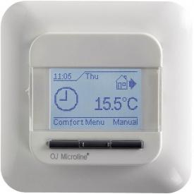 Програмований термостат для теплої підлоги OJ Electronics OCD4-1999