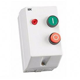 Контактор КМИ 11260 12А с индикацией 230В/АС3 IP54 IEK