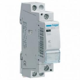 Контактор бесшумный модульный 25A 1но Hager ESC125S