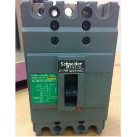 Автоматический выключатель 3p 50A EZC100 Schneider Electric
